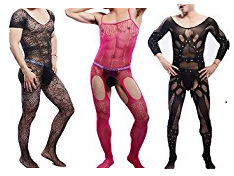 mens bodystockings